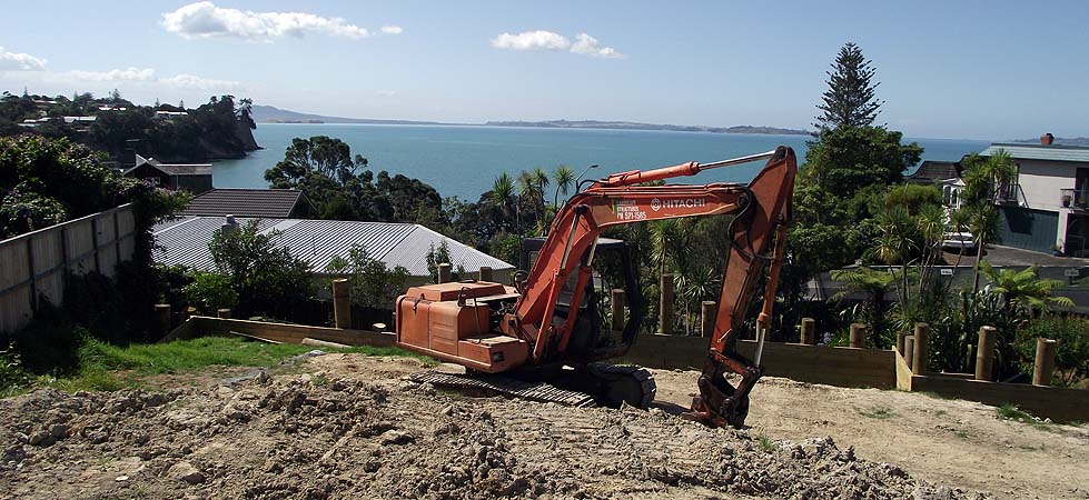 Earthmoving work in Auckland