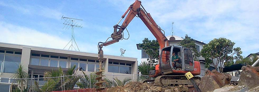 Ground drilling contractors Auckland-wide