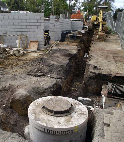 Drainlaying contractors Auckland