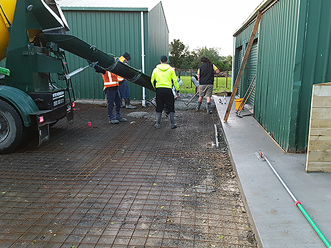 New Commercial Concrete Accessway Auckland