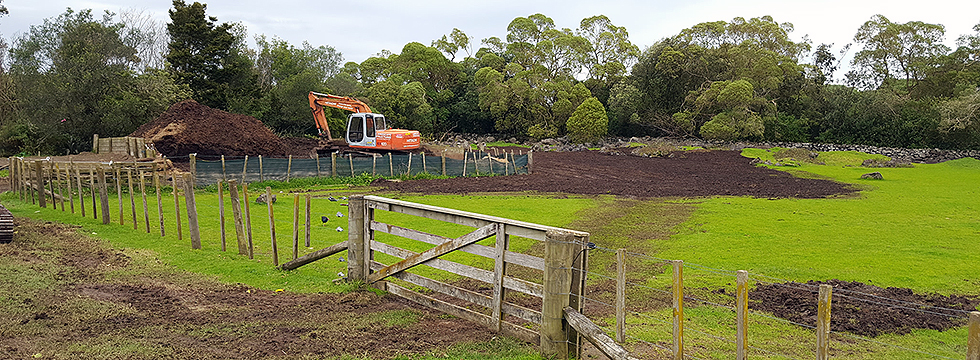Bulk Park Excavation in Auckland